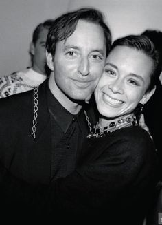 Tina  Chow with Herb Ritts