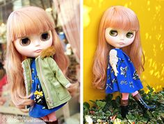 "Official photos for Neo Blythe ""Rachel's Ribbon"" 