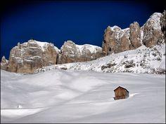 Alta Badia, Alps, Italy, Mountain, Fresh Snow, Nature