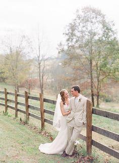 Rustic Outdoor Autumn Wedding #AutumnWedding #RusticWedding #Wedding Cermony