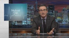Last Week Tonight with John Oliver: Medicaid Gap (HBO) -  Published on Nov 1, 2015 -  The election in 2016 decides our new president, but the one this year could determine whether many Americans will have healthcare.  Connect with Last Week Tonight online... Subscribe to the Last Week Tonight YouTube channel for more almost news as it almost happens: www.youtube.com/user/LastWeekTonight