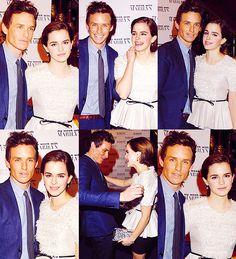 """Eddie Redmayne & Emma Watson ; """"My Week with Marilyn"""" London premiere, UK (November 20th, 2011)"""
