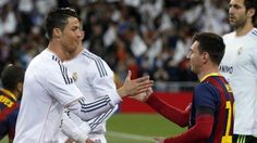 Cristiano Ronaldo e Messi