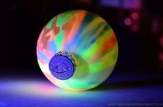 The Swell Life: DIY Glow in the dark ornaments