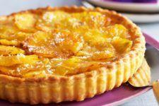 Cette recette de tarte aux pommes et à la noix de coco....