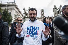 Il segretario della Lega inizia da Mugello e provincia di Firenze il tour delle elezioni regionali per presentare il candidato governatore Claudio Borghi. Mi hanno già chiamato 120 sindaci
