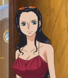 Nico Robin is my wiifu! Nico Robin, Zoro And Robin, Nami One Piece, One Piece Anime, One Piece Pictures, One Piece Images, Anime Outfits, Female Characters, Anime Characters