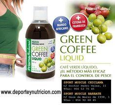 Café verde para el control de peso.