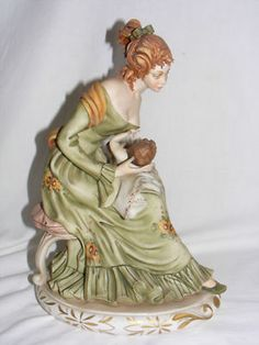 Quality limited edition Capodimonte Figure Group SIGNED