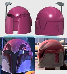 TrainWreck's daughter's Sabine Wren WIP