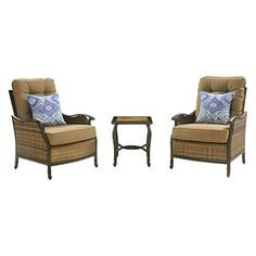 Hanover Hudson 3 Piece Small Space Set