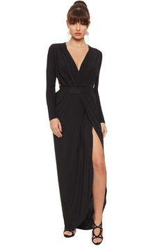 Cecelia Wrapover Maxi Dress | WearAll