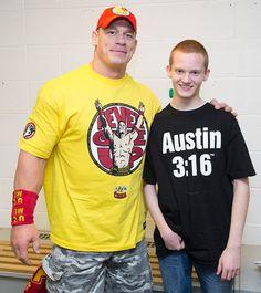 Circle of Champions: John Cena meets Benjamin in Nottingham, England