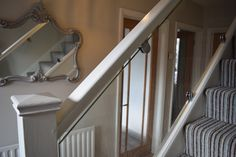 Glass stair balustrade in St Albans - After (3/7)