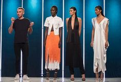 Project Runway Season 13 Finale, Part 1, When in Rome. Sean's collection showing the betrayal of Caesar = mind blown.