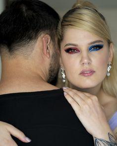 #iMikriOllandeza #MikriOllandeza #makeup #boldmakeup #differenteyemakeuplooks #aesthetic #naturalbrows #septum #septumpiercing #septumring #falselashes #redmakeup #bluemakeup #cateye #cateyemakeup #makeuplook #2020