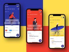 Ios App Design, Mobile Ui Design, Interface Design, Design Android, Interface App, Wireframe Mobile, Mobile App Ui, Ux Wireframe, Interaktives Design