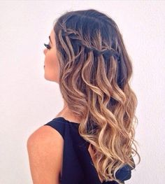 Braided hairstyles are always fun and it adds and extra definition to your look…