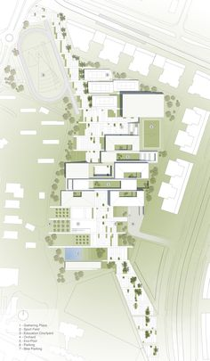 'Fields Of Knowledge' Sustainable Education Campus Second Prize Winning Proposal / ShaGa Studio + Auerbach Halevy Architects