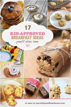 Kid Approved Breakfast Recipe Ideas