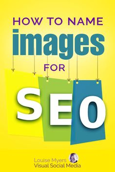 Want to know how to name images for SEO? This tip makes it so easy – it literally will take you just seconds. Learn how here, and get more website traffic! Seo Marketing, Digital Marketing Strategy, Content Marketing, Affiliate Marketing, Media Marketing, Seo Strategy, Seo Optimization, Search Engine Optimization, Seo On Page
