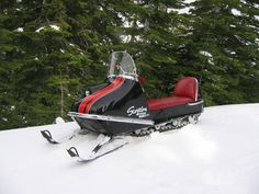I owned one of these for a year or 2. Of course, those winters barely had any snowfall, so the sled was sold for a few bucks.  Scorpion Mark II ~1970