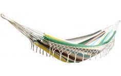 Caloogan hangmat 220 x 130 cm met franjes en met opbergtas | Winkel van Sinkel-Online