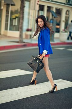 Summer Colors :: Blue blazer