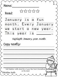 A Day in First Grade | Happy New Year's Sale!!