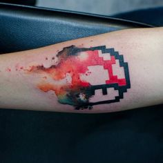 Watercolor Mushroom tattoo done by @streettatoo. To submit your work use the tag #gamerink And don't forget to share our page too!  #tattoo #tattoos #ink #videogametattoo #gamertattoo #gamerink #videogames #gamer #gamer #gaming #nintendo #nes #snes #supernintendo #n64 #gamecube #wii #wiiu #mushroom #mario #watercolor #supermariobros #mariobros #mushroomstattoo #mariotattoo #supermariobrostattoo #mariobrostattoo #nintendotattoo #watercolortattoo