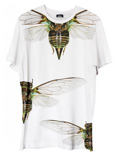 Cicadas - printed t-shirt