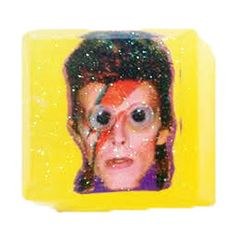 BOWIE SOAP  so glam.