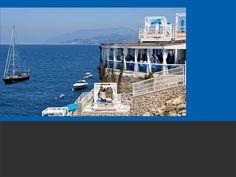 Il Riccio Restaurant and Beach Club  Capri Italy