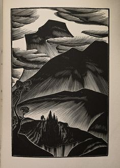 Lynd Ward (American, 1905-1985). Gods' Man. 1929. (wood engraving)