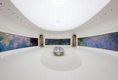 """Monet's """"Les Nymphéas"""" at the Musée de l'Orangerie, Paris 75001"""