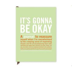 It's Gonna Be Okay Guided Journal - Inner-Truth Journal by Knock Knock Unique Graduation Gifts, College Graduation Gifts, College Fun, Grad Gifts, Graduation Ideas, Its Gonna Be Okay, Cheer Up Gifts, Thing 1, Motivational Phrases