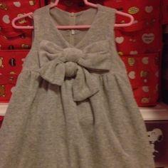 Grey Ribbon Dress with Inner Silk 3-4 yrs S$25.90