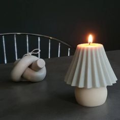 Soy Candles, Scented Candles, Found Object Art, Candle Lamp, Candle Centerpieces, Vintage Lamps, Minimalist Bedroom, Handmade Home, Candles