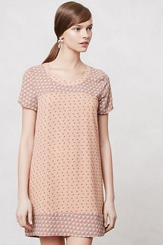 As the weather gets warmer and the afternoons more adventurous, we're craving whimsical, retro-inspired pick-me-ups. We're loving silky, simple shifts that are cut like our favorite tee but go with our favorite heels, like this split-print one from Maeve. Pin It Share on Facebook share this on twitter