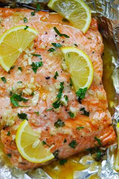 Best Salmon Recipe, Baked Salmon Recipes, Seafood Recipes, Cooking Recipes, Seafood Dishes, Seafood Meals, Fish Recipes, Dinner Recipes, Honey Lemon Salmon