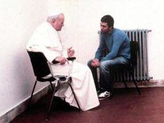 Papież Jan Paweł II i jego zamachowiec