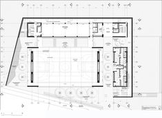 Image 22 of 28 from gallery of Universidad de los Andes Sport Facilities / MGP Arquitectura y Urbanismo. first level plan Image 22 of Gymnasium Architecture, Stadium Architecture, School Architecture, Architecture Plan, Ishikawa, Swimming Pool Architecture, Title Block, School Hall, Olympic Swimming