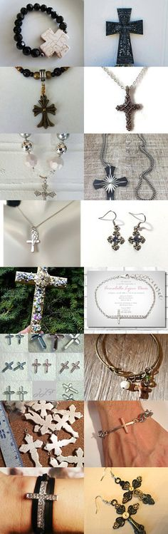 Cross Treasury  by Julie and Kate on Etsy--Pinned+with+TreasuryPin.com