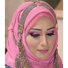 ربطــات حجاب جديده للمناسبات