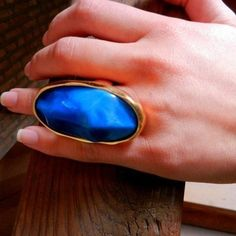 River Run Ring... bold and beautiful! Adjustable sizing keeps it in line. $40