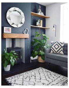 Log Burner Living Room, Living Room Decor Fireplace, Living Room Decor Colors, Living Room Color Schemes, Interior Design Living Room, Living Room Designs, Oak Living Room Furniture, Home Interior, Office Furniture