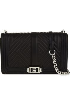 f7fd8157195ea REBECCA MINKOFF Love Quilted Leather Cross-Body Bag.  rebeccaminkoff  bags   shoulder