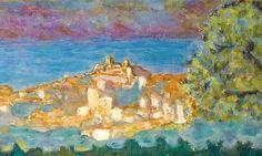 Pierre Bonnard (1867-1947) Ciel d'orage sur Cannes (Detail)