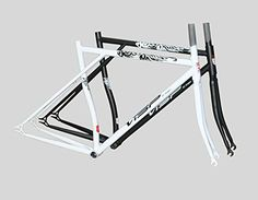 Cycling Biking: Visp Gt-dragon Cr-mo Fixed Gear Fixie Frame and Fork * Check out this great product.