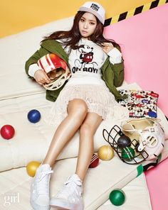 A Pink Na Eun - Vogue Girl Magazine March Issue '15